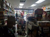 Retail shop for quick sale