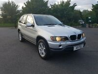 Bmw x5 3.0d with big service history low miles mot very clean car for the age private plate