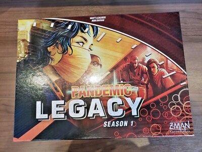 Pandemic Legacy Board Game, Red Season 1 -Free Shipping