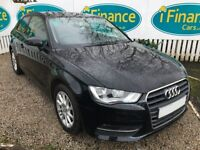 CAN'T GET CREDIT? CALL US! Audi A3 1.4 TFSI SE Sportback, 2013, Manual - £200 DEPOSIT, £68 PER WEEK