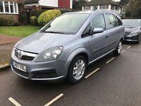 Vauxhall zafira 1.6 life, NEW MOT & SERVICE ONO