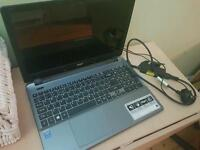 Acer grey laptop - like new. Used a couple of times. 17.1