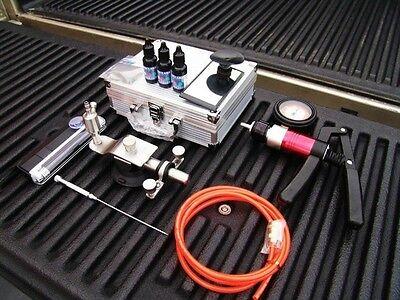 USA Windshield Glass Repair Tool Kit Set UV Resin Windscreen Chip Crack System