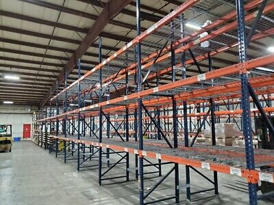 New And Used Pallet Racks For Sale In Wisconson. Warehouse Racking.
