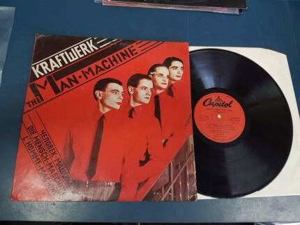 ♫♫♫♫ Kraftwerk Record The Man Machine The Robots German