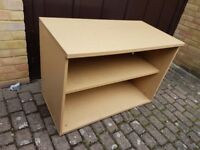 Open Fronted Bookcase/ Cupboard