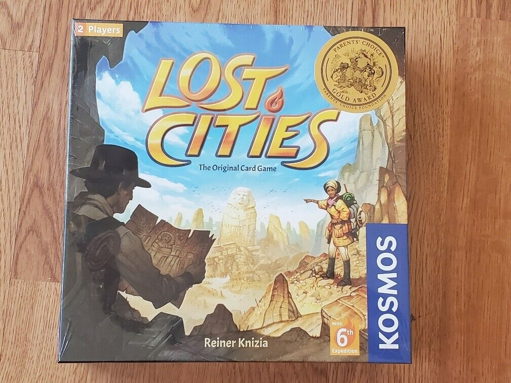 Lost Cities Board Game Brand New Sealed KOSMOS