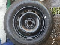 Vw golf / seat leon wheel + new tyre