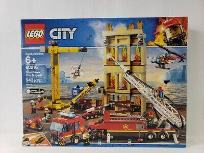 Lego City Downtown Fire Brigade Building Toy 943pcs 60216