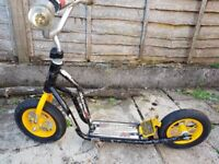 Mayhem scooter with blow up tyres and stand