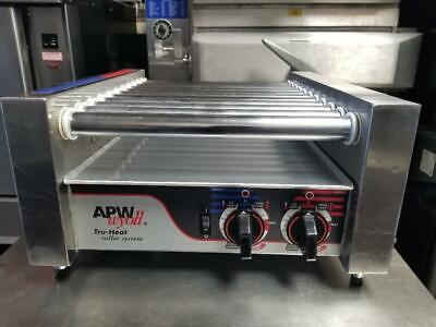 Apw Wyott Hr-20 Hot Dog Roller Chrome Surface Grill Cooker