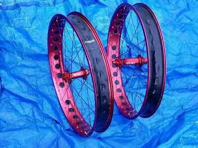 "Fat Bike Tire Rim Strip 50mm Fit Other Brother Darryl Wheel 26/"" Rims /& More Red"