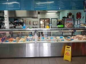 Fish & Chip Bayside Wynnumm Plaza takes $10,000  + per week Brisbane City Brisbane North West Preview
