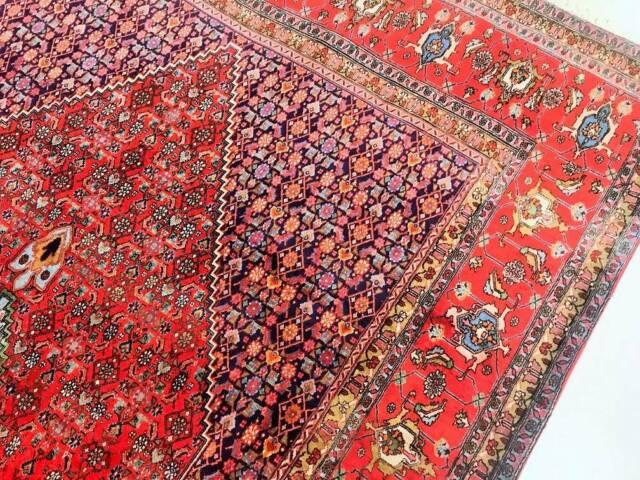 Hand Knotted Persian Bijar Rug Carpet