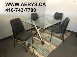 WHOLESALE FURNITURE WAREHOUSE !!! WWW.AERYS.CA dinette set from $229!!416-743-7700 for more details.We carry Ashley too