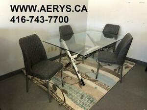 WHOLESALE FURNITURE WAREHOUSE !!! WWW.AERYS.CA dinette set from $229!!call 416-743-7700 for more details.