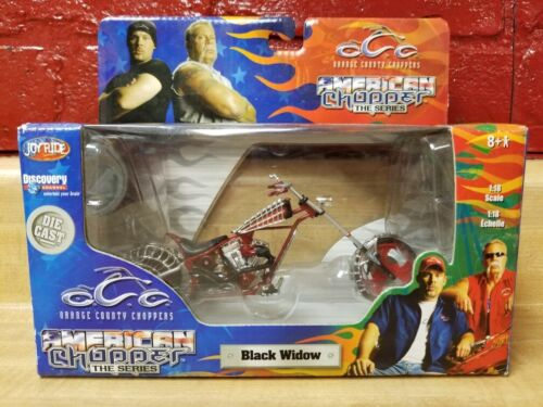 2004 RC-Ertl Orange County Choppers Black Widow 1:18 Scale