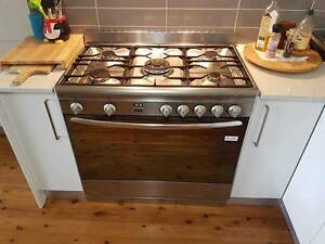 Omega Upright Electric Oven and Gas Cooktop (model OF901XA) Baulkham Hills The Hills District Preview