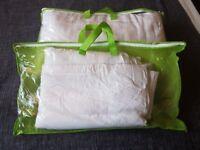2 x Pillow Duvet Set Washable - Single