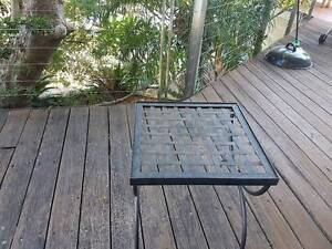 Small metal table Seaforth Manly Area Preview
