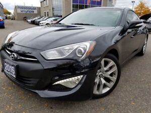 2015 Hyundai Genesis Coupe Prem-Sunroof 3.8L IN GREAT CONDITION