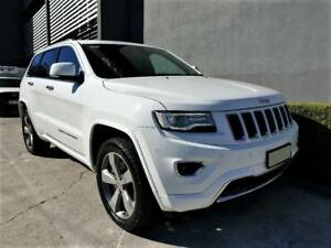 2013 Jeep Grand Cherokee OVERLAND Diesel Automatic SUV Southport Gold Coast City Preview