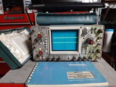 Tektronix 465b Analog Oscilloscope - Good Condition