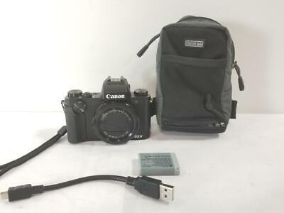 Canon PowerShot G5X 20.2MP Digital Camera (NOTES) (AM1048080)