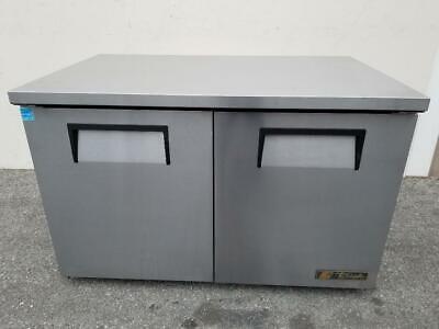 True Tuc-48-lp 48 W Undercounter Refrigerator W 2 Sections 2 Doors 115v