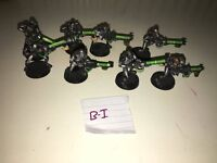 Warhammer 40k orks, marines and necrons.