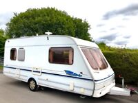 Swift Lifestyle 5 Berth Caravan With Optional Fixed Bed - Motor Mover & Awning