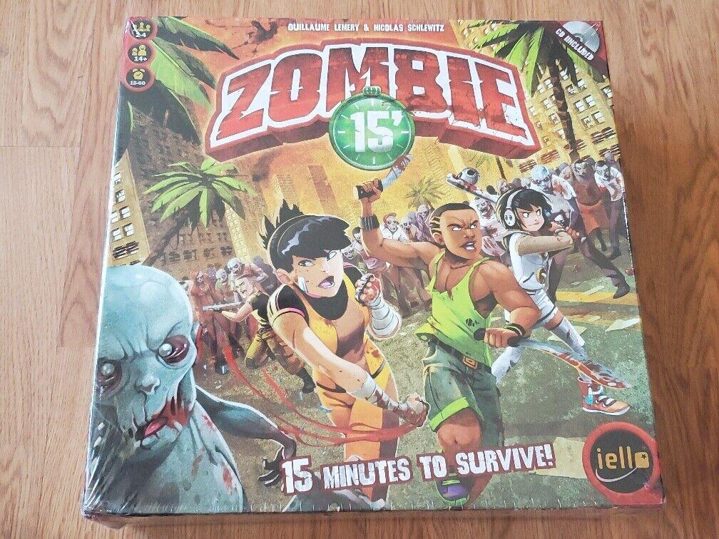 Zombie 15' Board Game IELLO New Sealed