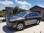 AUTO 2011 Toyota Kluger GSU45R MY11 Upgrade KX-R (4X4) 5 Seat Reservoir Darebin Area Preview