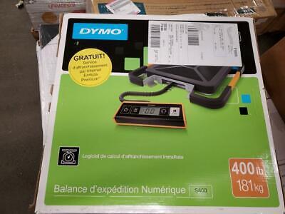 Dymo Pelouze 250lb Digital Usb Shipping Scale 400 Lb 181 Kg Maximum Weight