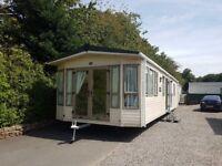 Cheap private sale luxury static caravan on 5* park in Lockerbie ABI Windermere 38x12 2bed DG & GCH