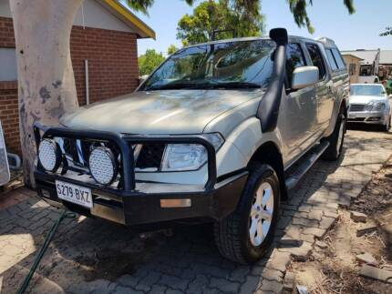2011 Nissan Navara Ute 4X4 AUTOMATIC 2.5 Turbo Diesel Gilles Plains Port Adelaide Area Preview