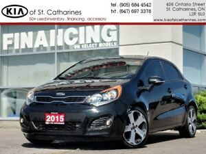 2015 Kia Rio SX | Navigation | Leather | Climate Control
