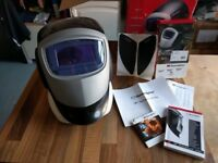 (pricedrop!) Speedglas 9002D Welding Mask + ProTop (bargain, as new)