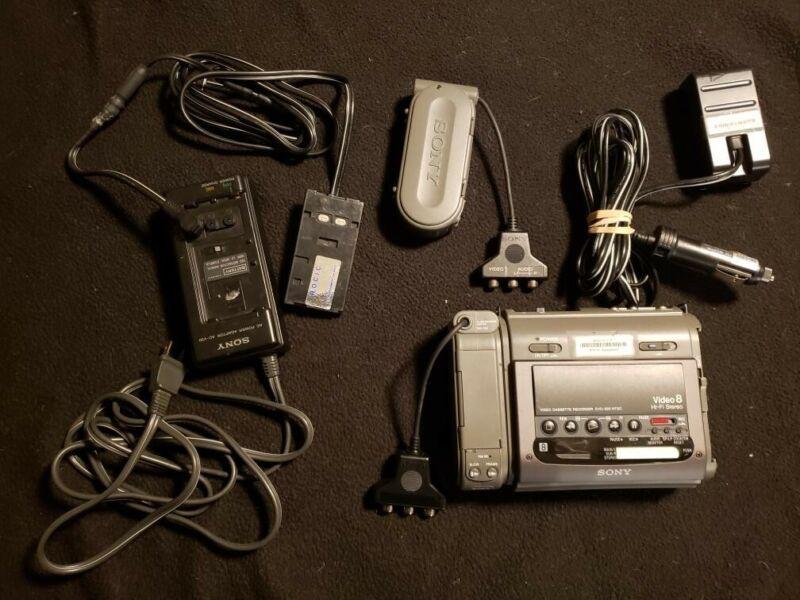 Sony EVO-220 Video Recorder VCR Deck EX Video 8 HiFi Stereo