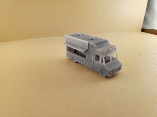 N Scale Food Truck, 3D Printed