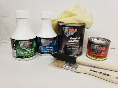#42058K  POR-15 Engine Paint Kit - Buick Green Buick Engine Paint