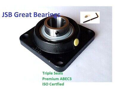 Qt.10 Ucf210-32 Square Flange Bearing Premium Solid Base Triple Seals Abec3 2