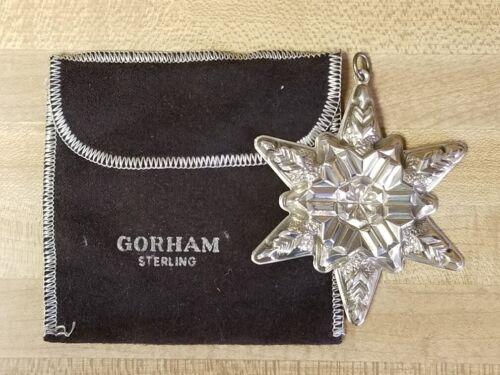 1970 Gorham Sterling Christmas Ornament