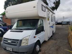 2007 Ford Transit Apollo 6 Berth Campervan Gilles Plains Port Adelaide Area Preview