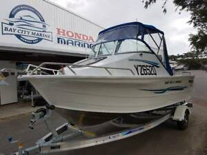 2018 Quintrex Sea Spirit 75 EFI Mercury Alloy trailer
