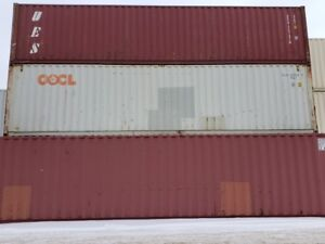 JUST LANDED! 40' sea containers