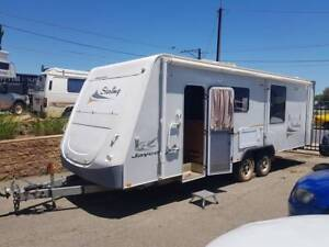 2009 Jayco Stirling 23ft TWIN SLIDE/REAR ENSUITE