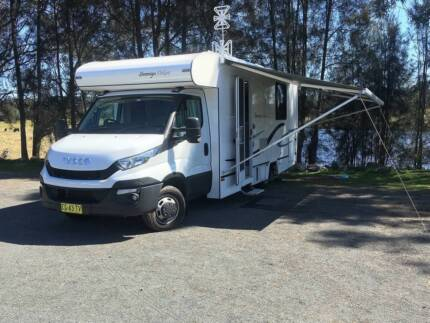 2015 Sovereign Deluxe Motorhome Caringbah Sutherland Area Preview