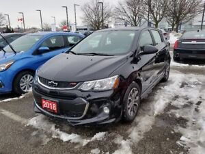 2018 Chevrolet Sonic LT Auto RS PKG, SUNROOF, REMOTE START, R...
