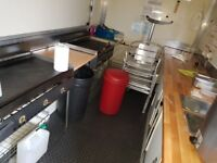 16ft Catering Trailer ready to trade, complete with all equipment including Dual fuel Generator